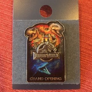 Jurassic World Official Grand Opening Pin